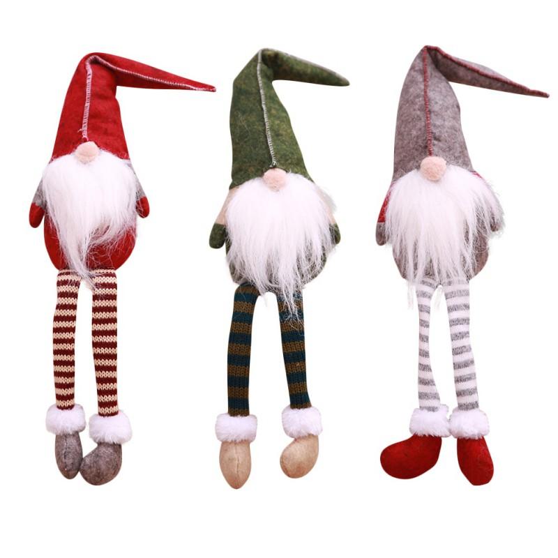 Homemade Christmas Decorations Uk: Handmade Christmas Swedish Gnome Santa Faceless Plush Doll